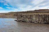 Coast Of Icelandic River Jokulsa A Fjollum