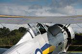 Vintage Gloster Gladiator Bi-plane