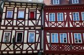 MILTENBERG, GERMANY - 20 JULY: Half-timbered old house in Miltenberg, Lower Franconia, Bavaria, Germany, on July 20, 2013