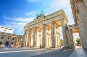 Berlin Brandenburg Gate of Germany
