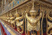 Wat Phra Kaew of Bangkok Thailand
