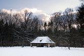 historic barn at Rieseneck