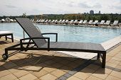 Wicker Beach Lounge Chair