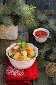 Salade Olivier, Russian Salad