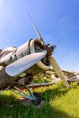 Samara, Russia - May 25, 2014: Old Russian Aircraft An-2 At An Abandoned Aerodrome In Summertime. Th