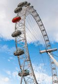 Closeup Of The London Eye