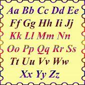 Alphabet of english