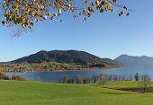 Autumnal Lake View Tegernsee