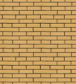 The Texture Of Yellow Brick Cladding