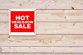 Hot Sale Here And Now Sign