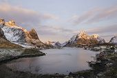 Sunrise Over Reine, Norway