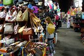 Tourist Shops For Bargain Priced Fashion And Casual Wear In Mong Kong Night Market