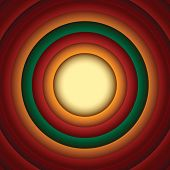 Постер, плакат: Circle Abstract Background