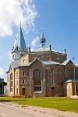 Alexander's Lutheran church in Narva Estonia