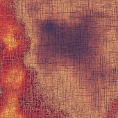 Old-style background, aging texture. With different color patterns: purple (violet); orange; red; brown; yellow