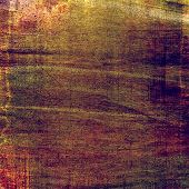 Designed grunge texture or background. With different color patterns: gray; green; orange; brown; yellow