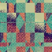 Old background or texture. With different color patterns: purple (violet); orange; brown; gray; blue