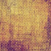 Old grunge textured background. With different color patterns: gray; purple (violet); orange; brown; yellow