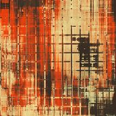 Grunge background with vintage and retro design elements. With different color patterns: gray; orange; red; brown; yellow