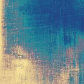 Aged grunge texture. With different color patterns: yellow; blue; violet