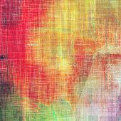 Grunge aging texture, art background. With different color patterns: green; purple (violet); orange; red; yellow