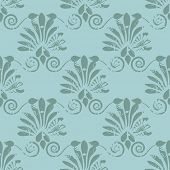 Damask seamless pattern for your design. Vector illustration for design of gift packs, wrap,  patterns fabric, wallpaper, web sites and other.