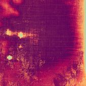 Grunge aging texture, art background. With different color patterns: purple (violet); orange; red