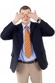 The See No Evil Gesture