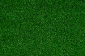 image of football pitch  - Green grass background - JPG