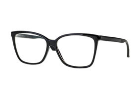 stock photo of nerds  - black nerd or geek eye glasses isolated over a white background - JPG