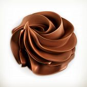 pic of whipping  - Chocolate whipped cream - JPG
