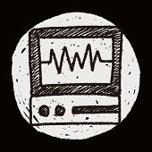 image of ekg  - Doodle EKG - JPG
