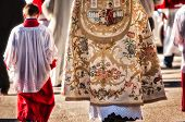 foto of altar  - altar boy and priest during a religious ceremony - JPG