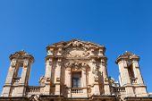 picture of marsala  - Chiesa del Purgatorio detail Marsala Sicily Italy - JPG