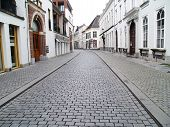 A Street In Breda In The Province Of Brabant, Netherlands