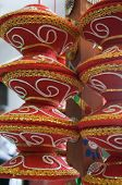 image of hindu  - Traditional indian manda used for hindu marriages in north India - JPG