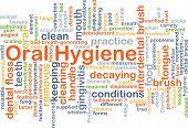 picture of gingivitis  - Background concept wordcloud illustration of oral hygiene - JPG