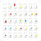 Files Icons Set Series
