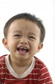 cute Asian kids,smiling and happy