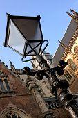 St Bavos  Lamp Post