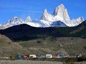 Mount Fitzroy El Chalten In Argentina