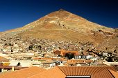 Red Rooftops, Potosi, Bolivia