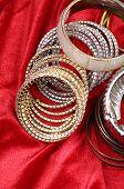 Golden fashion bracelets