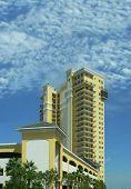 Yellow Condo Building
