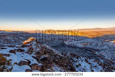 Rio Grande Valley Black Mesa
