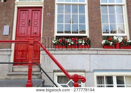 Amsterdam Residential Street Generic Old
