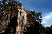 Wat Phra Si Lriyabot With Buddha Statues Historical Park In Kamp poster