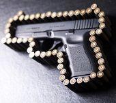 Automatic handgun
