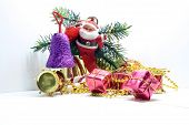 Santa Claus and gifts