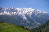 Mont-Blanc massive